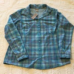 Duluth trading sidewinder shirt UPF 30